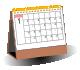 三角桌曆(檯曆)及桌上曆-圖示